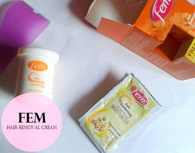 Fem anti Verdunkelung Enthaarungscreme Bewertung: trockene Haut