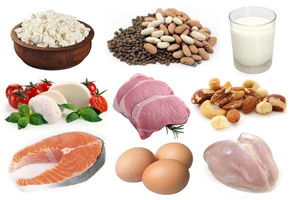 Nahrungsmittel mit hohem Protein (Eiweiß-reiche Lebensmittel)