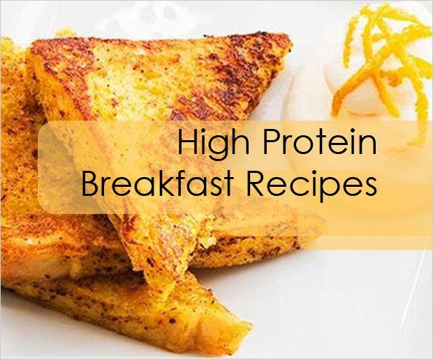 Hohe Proteingehalt Frühstück Rezepte