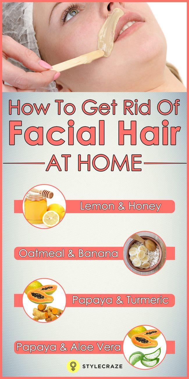 Hausmittel und Tipps für unerwünschte Haare im Gesicht