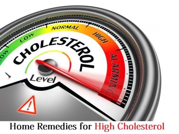 Hausmittel für hohe Cholesterinwerte
