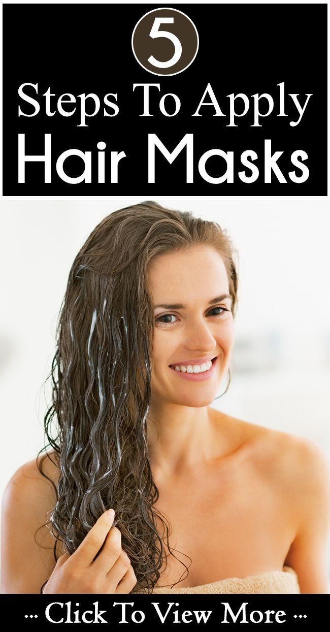 Wie eine Haarmaske in 4 einfachen Schritten anwenden
