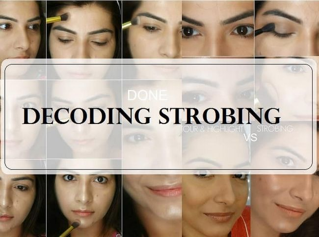 Gewusst wie: DIY strobing Highlighter Make-up Tutorial auf indische Haut