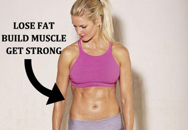 Wie zu verlieren Fett und Muskeln halten