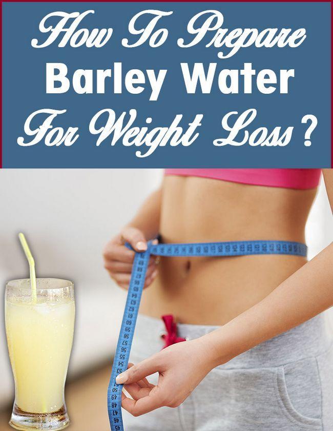 Wie Gerste Wasser für die Gewichtsabnahme vorbereiten?
