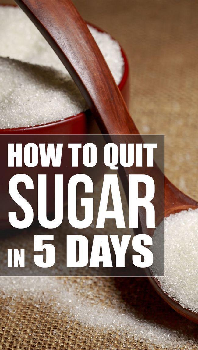 Wie beenden Zucker in nur 5 Tagen (mit Diät-Plan)