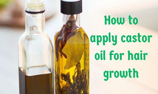 Wie Rizinusöl für das Haarwachstum benutzen?