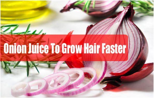 Wie Zwiebelsaft für das Haarwachstum benutzen?