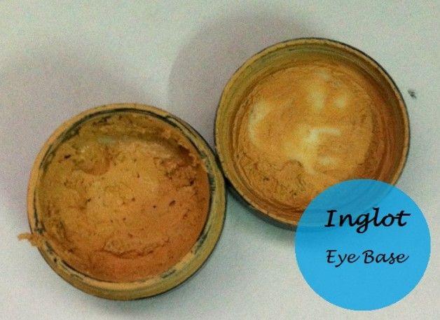 Inglot Augen Make-up Basis: Überprüfung und Muster