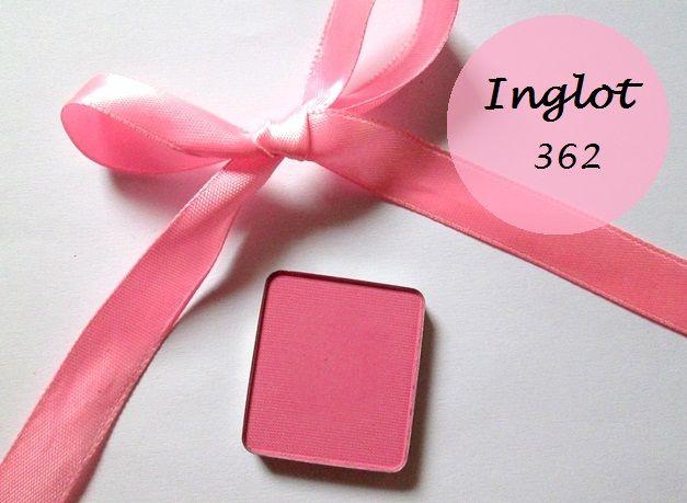 Inglot Freiheit System Lidschatten 362 matt: Muster, Bewertung und Augen Make-up