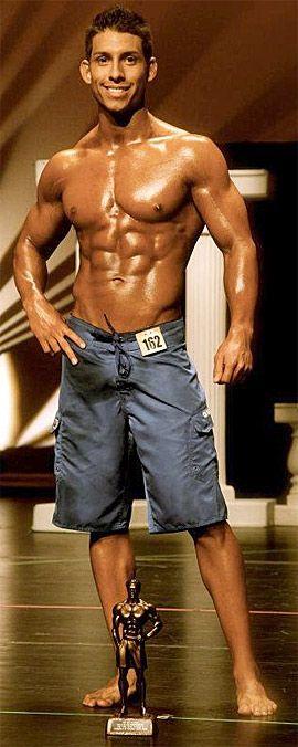 Einführung in die Männer-Körper Wettbewerb
