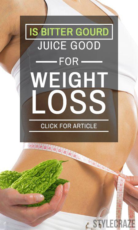 Ist bitterer Kürbis Saft gut für die Gewichtsabnahme?