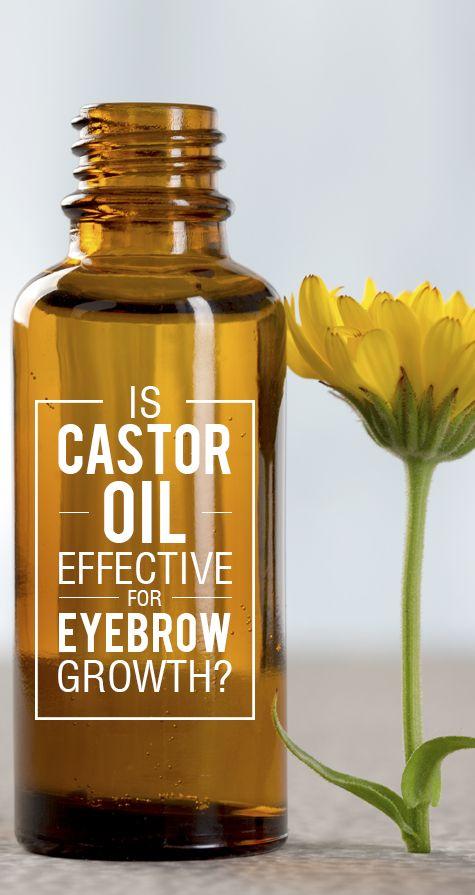 Ist Rizinusöl wirksam für die Augenbraue Wachstum?