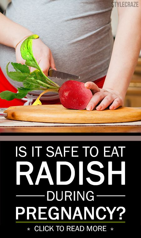 Ist es sicher, Rettich während der Schwangerschaft zu essen?