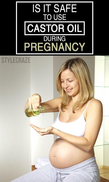 Ist es sicher, Rizinusöl während der Schwangerschaft zu benutzen?