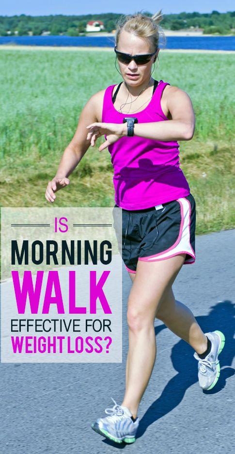 Ist Morgen zu Fuß effektiv für die Gewichtsabnahme?