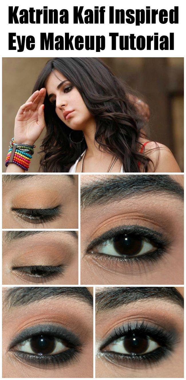 Katrina kaif inspiriert Augen Make-up Tutorial - mit detaillierten Schritten & Bilder