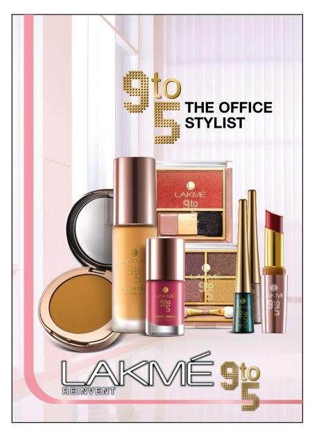 Lakme 9-5 Büro Stylistin Make-up Bereich: Produkt- und Preisliste