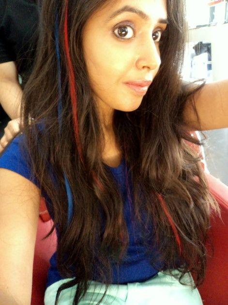 Lakme absolute farbige Haarverlängerungen in drei Farben - meine Erfahrungen