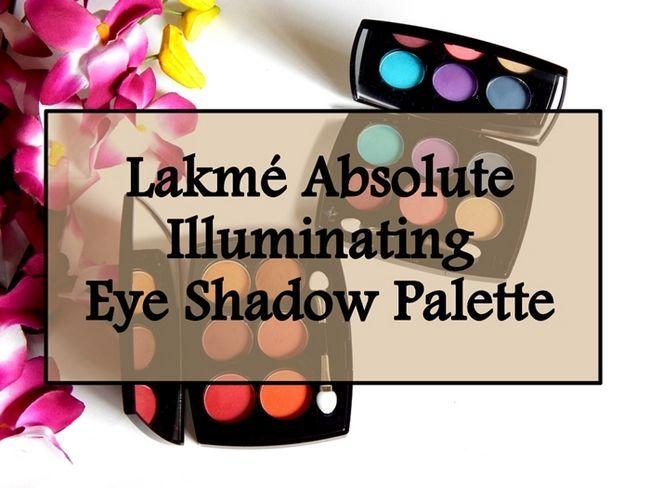 Lakme absolute Beleuchtungs Lidschatten-Paletten: Überprüfung, Muster