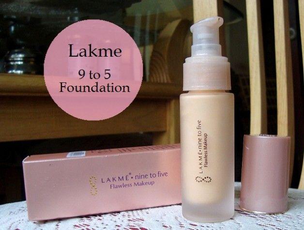 Lakme neun bis fünf einwandfreie Make-up-Grundlage Muster und Bewertung