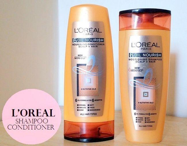 L`Oreal Paris 6 Öl nähren Shampoo und Conditioner: Bewertung, Preis