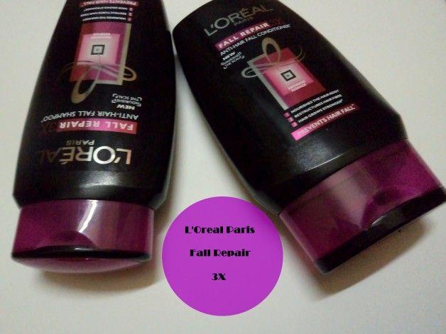 L`Oreal Paris fallen Reparatur 3x Anti Haarausfall Shampoo und Conditioner Bewertung