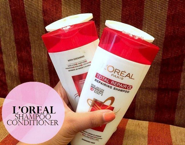 L`Oreal Paris gesamte Reparatur 5 Shampoo und Conditioner: Bewertung, Preis