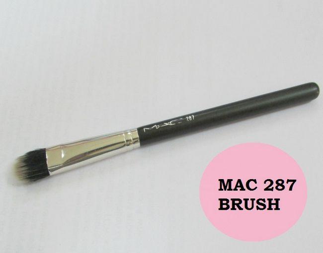 Mac 287 Duo-Faser Lidschattenpinsel: Bewertung, dupe
