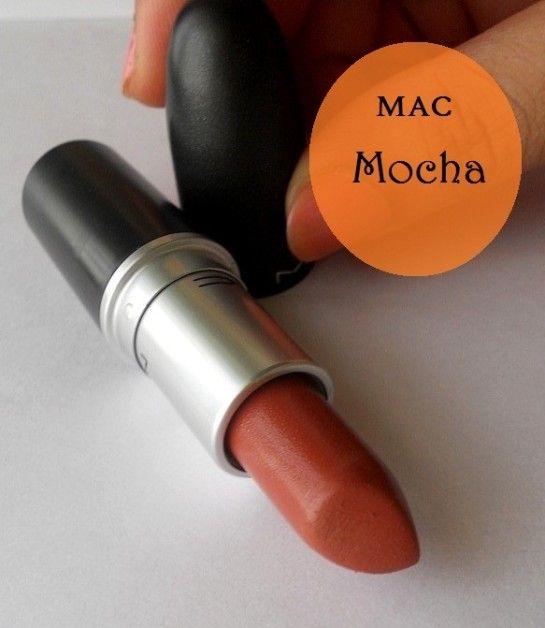 Mac Mokka Lippenstift Muster, Bewertung und Betrogenen