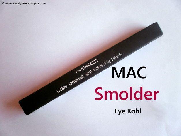 Mac schwelt Auge Kajal Überprüfung und Muster