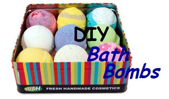 Machen Sie Ihre eigene üppige Badebombe - DIY