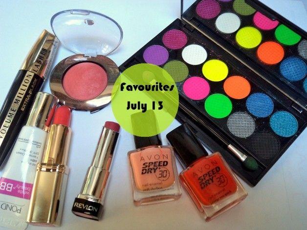 Make-up und Beauty-Favoriten - Juli 2013
