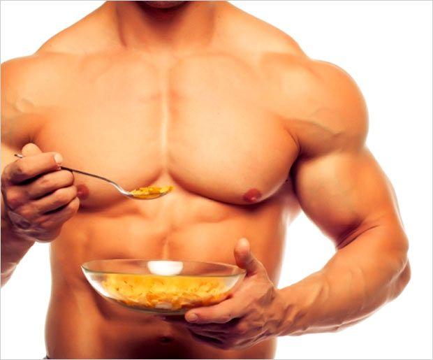 Muskelaufbau Ernährung - vor und nach dem Training