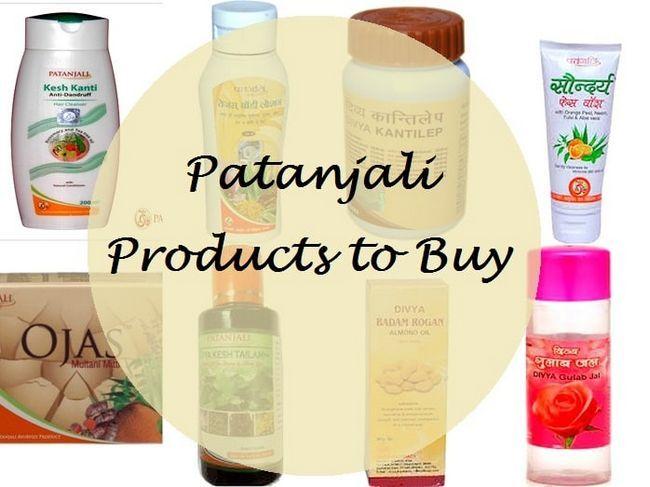 Meine 10 besten patanjali Produkte für Haut und Haar in Indien