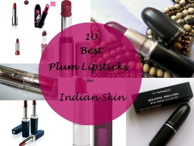 Meine 10 besten Pflaumen Lippenstifte für indische Hautton