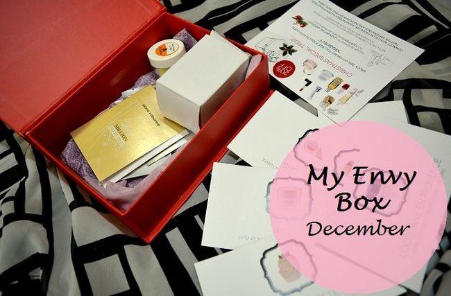 Mein Neid Box Bewertung: Dezember 2014 Weihnachtsausgabe