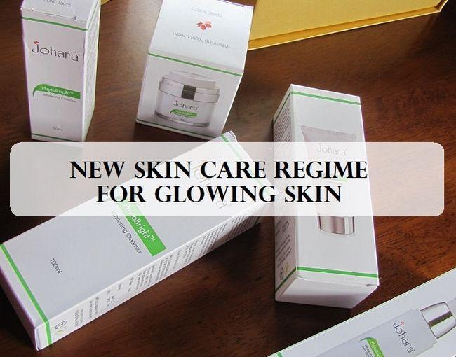 Neue leuchtende Hautpflege mit johara Kosmetik