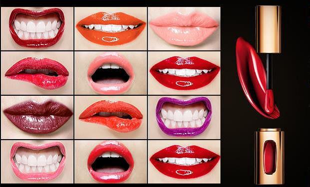 New L`Oreal cannes Make-up 2015: Gel Intenza, extraordinaire Lippenstifte, feucht matt