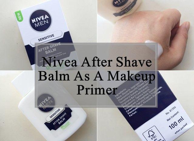 Nivea Männer After-Shave-Balsam als Make-up Grundierung: Überprüfung, wie zu nutzen