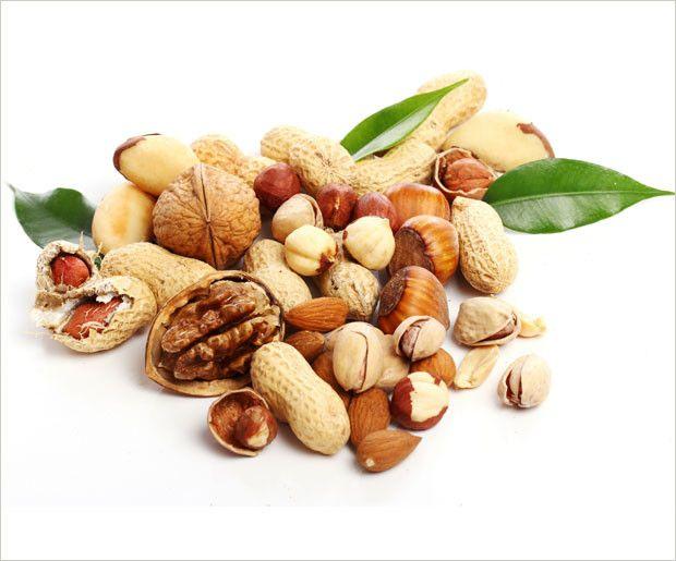 Nüsse - der natürliche Energie-Booster