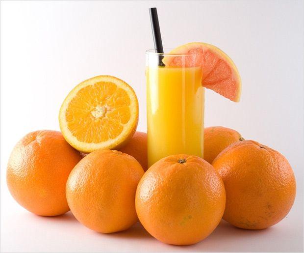 Orangensaft Diät zur Gewichtsreduktion