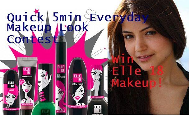 Mitmachen und elle 18 Make-up-Goodies gewinnen: festlich Werbegeschenk!