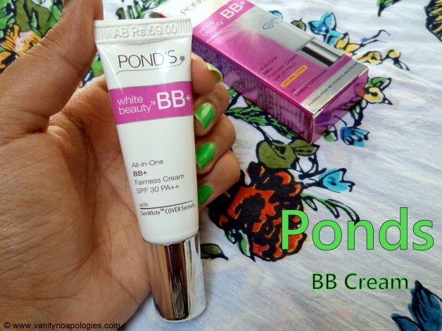 Ponds weiße Schönheit bb Fairness Creme india Bewertung, Muster