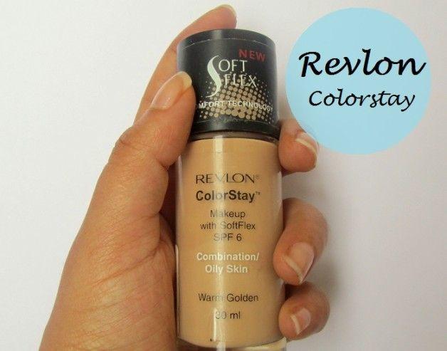 Revlon Colorstay Make-up flüssige Grundlage für die Kombination / fettige Haut: Bewertung und Muster