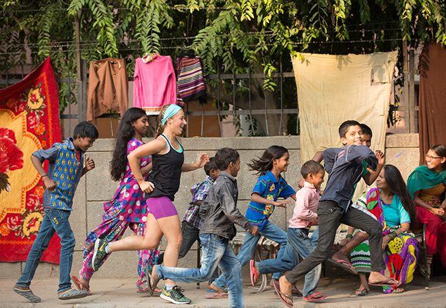 Samantha Gash plant Rekordfahrt in ganz Indien