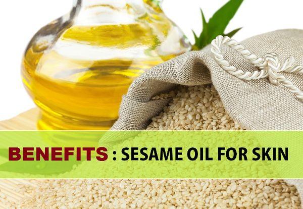 Sesamöl Vorteile für die Haut