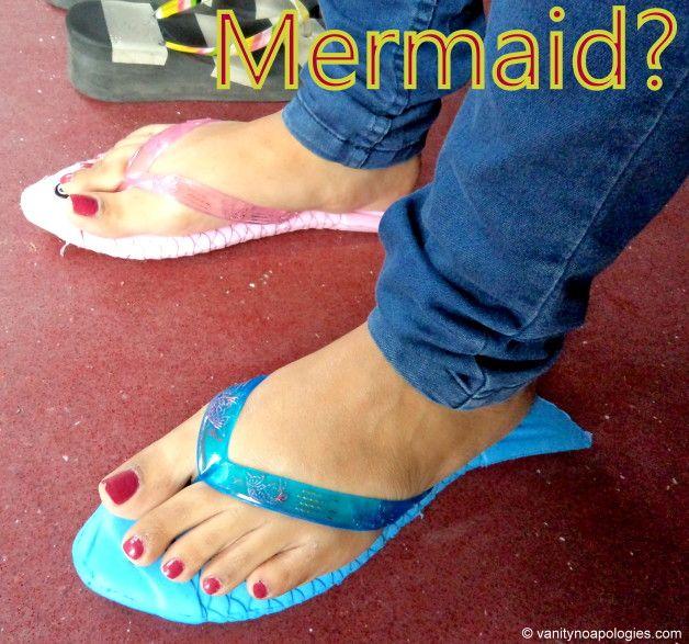Starlets auf Straßen: Meerjungfrau Prinzessin!