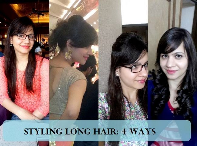 Styling mein Medium langen Haaren Post lakme Salon Haar Umarbeitung