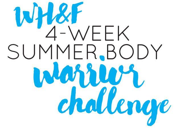 Sommerkörper Krieger Herausforderung